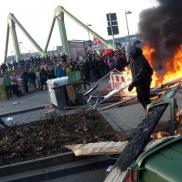 Blockupy-Proteste zur EZB-Eröffnung