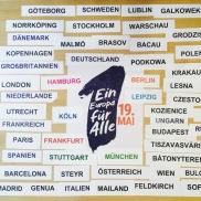 Foto: Ein Europa für Alle – Deine Stimme gegen Nationalismus