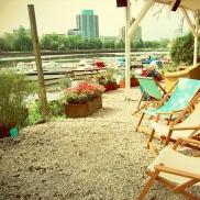 Foto: Blaues Wasser Frankfurt