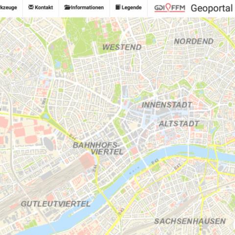Geoportal Frankfurt