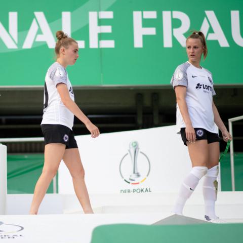 Pokalendspiel Eintracht-Wolfsburg