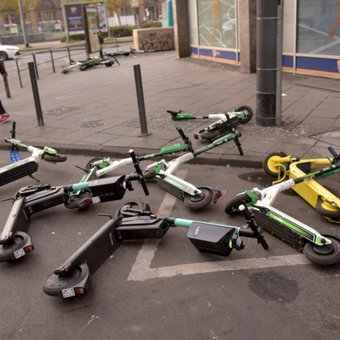 E-Scooter-Chaos