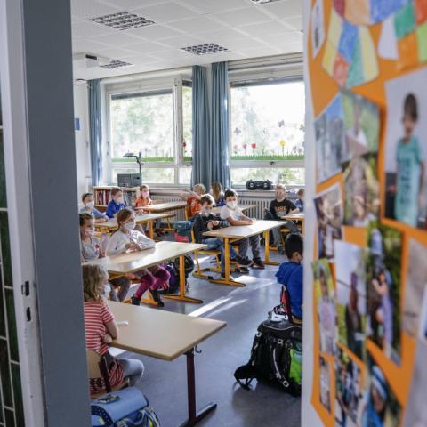 Schulbeginn mit Übergangsphase