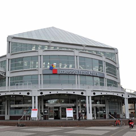 Impfzentrum Frankfurt