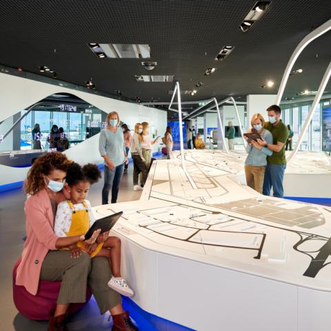 Flughafen-Besucherzentrum