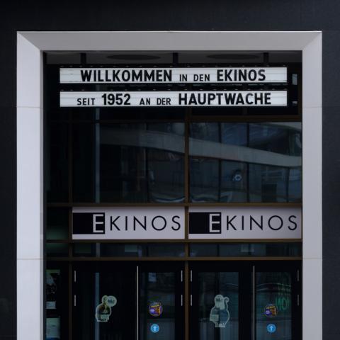 Wiedereröffnung E-Kinos