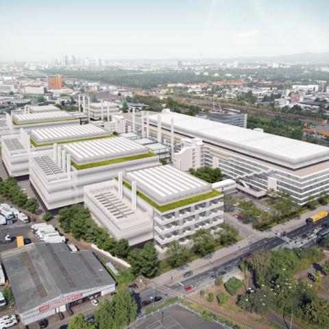 Baubeginn Digital Park Fechenheim