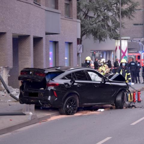 Unfall im Ostend