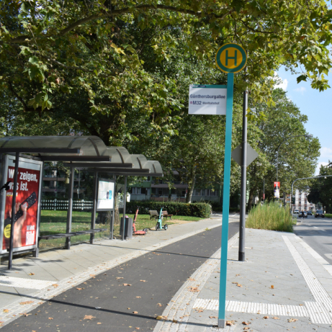 Umbau Bushaltestellen