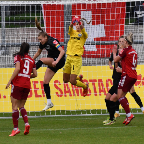 Eintracht Frankfurt-Bayern München 3:2