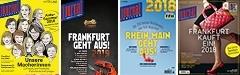 12x JOURNAL FRANKFURT plus Frankfurt Geht Aus!, Rhein-Main Geht Aus! & Frankfurt Kauft ein! zum Sonderpreis