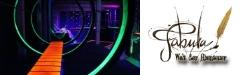 Abenteuer & Nervenkitzel mit Lasertag für 4 Personen im Erlebnispark Fabula für ein JOURNAL-Abo