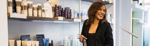 Exklusives Hairstyling mit Hairstylistin Tatyana Schremmer