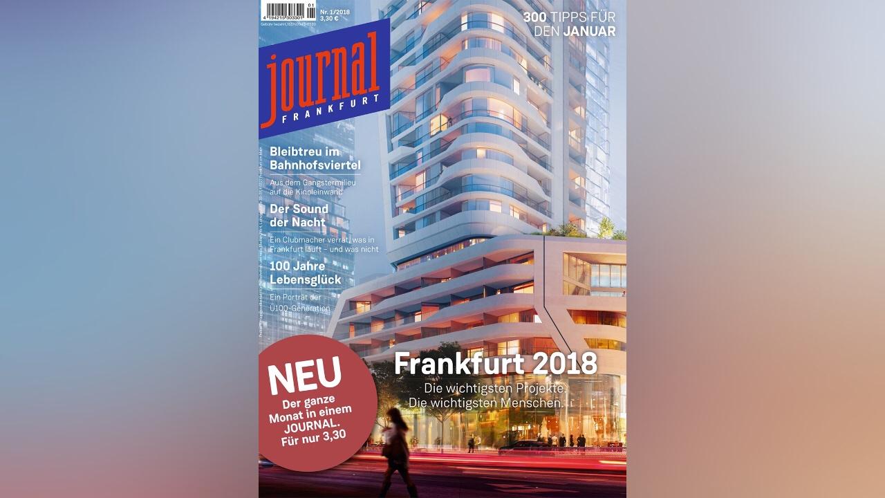 21e13be98946ee Journal Frankfurt erscheint künftig als umfangreiches Monatsheft – und als  App. Foto  JF