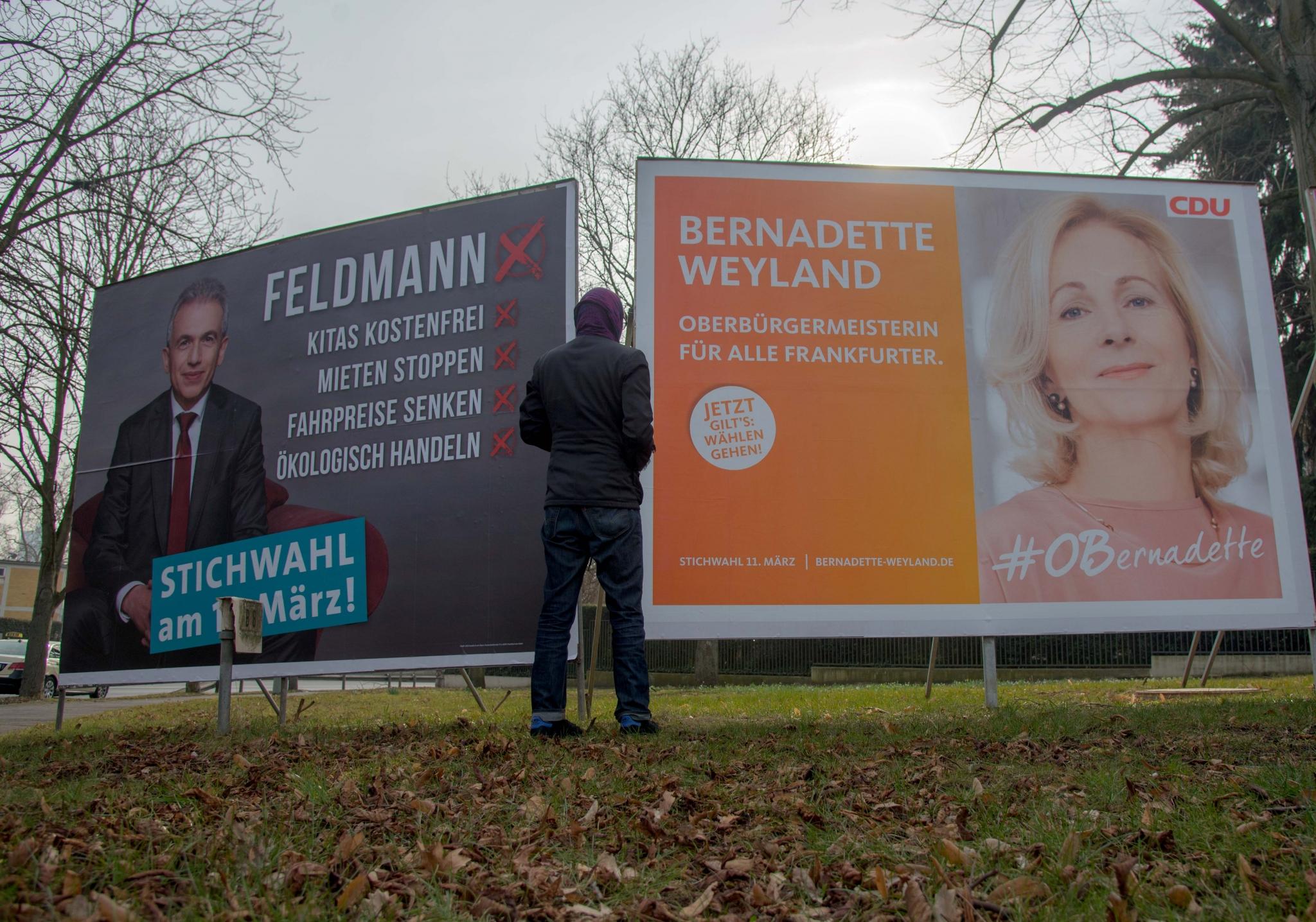 Feldmann (SPD) bleibt Oberbürgermeister