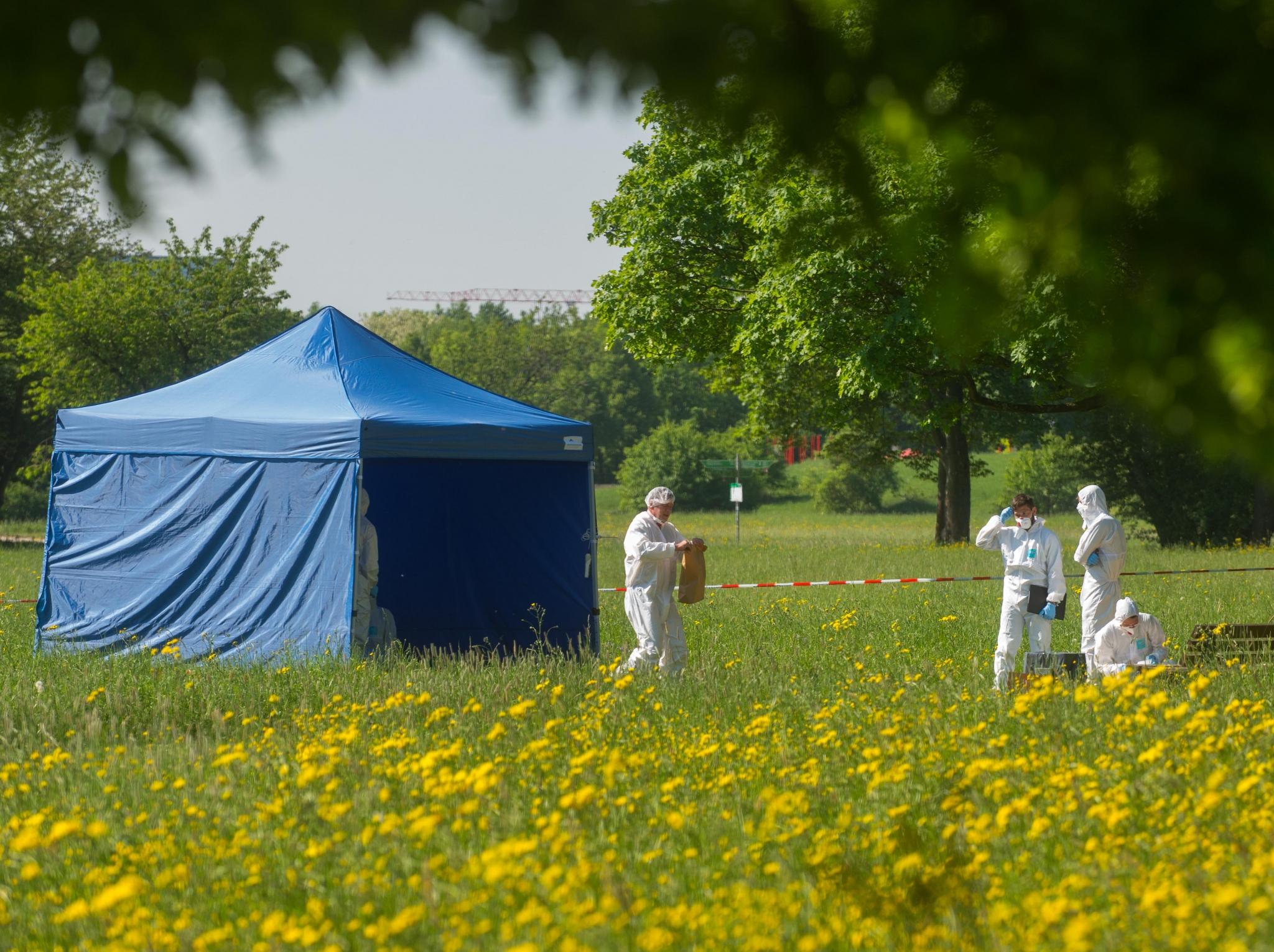 Leichenfund in Frankfurt: Spaziergänger entdeckt blutverschmierte Frau - was steckt dahinter?
