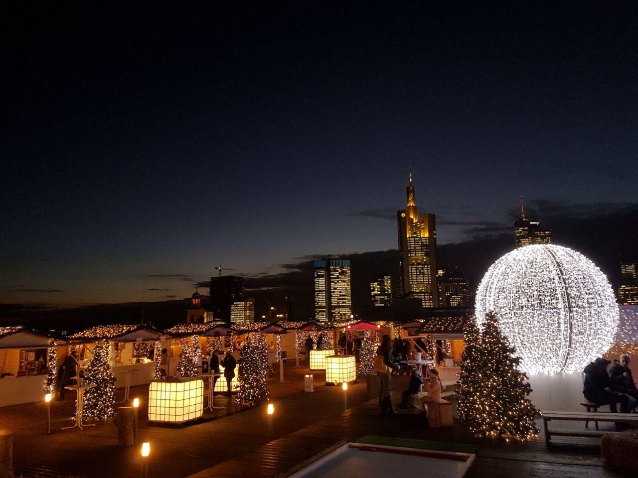 Weihnachtsmarkt Frankfurt Am Main.Journal Frankfurt Nachrichten Der Höchste Weihnachtsmarkt Der