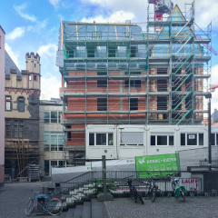 Die Baustelle DomRömer - Ein exklusiver Blick hinter den Bauzaun in Frankfurts historischer Mitte