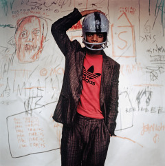 Foto: © Edo Bertoglio, courtesy of Maripol , Artwork: © VG Bild-Kunst Bonn, 2017 & The Estate of Jean-Michel Basquiat, Licensed by Artestar, New York