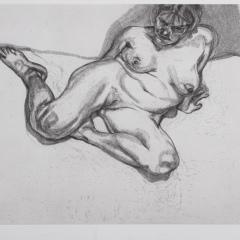 Frank Auerbach und Lucian Freud